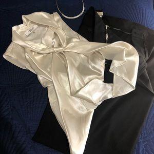 Size 18 women's Burberry black pants.